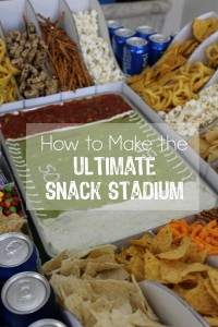 How to Build the Ultimate Snack Stadium // Life Anchored #GameDayGlory ad