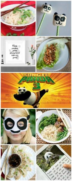 Kung Fu Panda 3 Recipes and Activites
