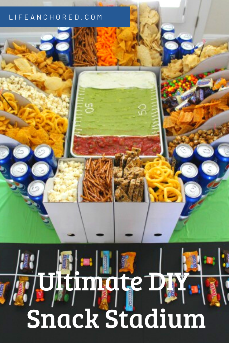 DIY Snack STADIUM // Life Anchored
