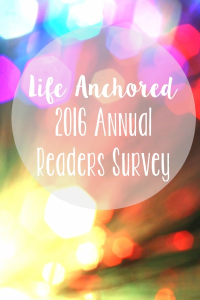 2016 Annual Readers Survey