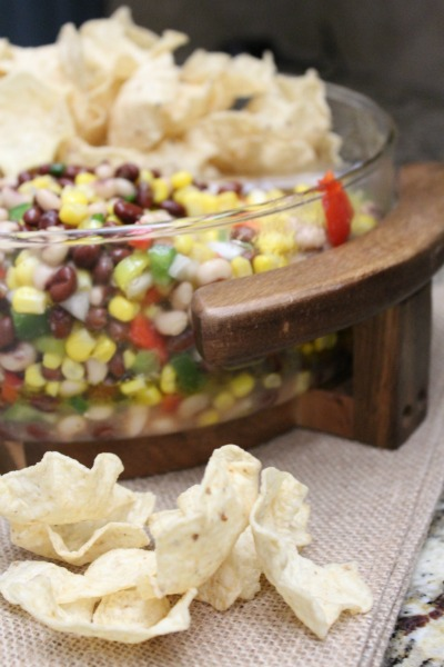 Black Bean and Corn Salsa // Life Anchored ad