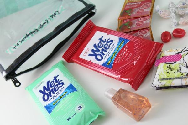 Diaper Bag Cold Season Emergency Kit // Life Anchored #GrabAWetOnes ad