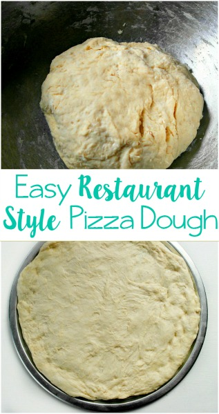 Easy Restaurant Style Pizza Dough // Life Anchored
