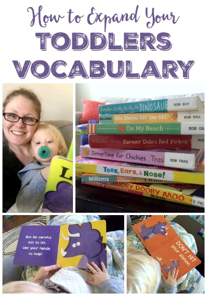 Expand your toddlers vocabulary // Life Anchored