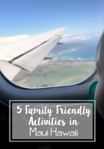 5 family friendly activities in Maui // Life Anchored