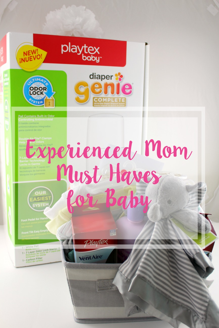 Experienced Mom Must Haves for Baby // Life Anchored AD #NurseryMusts