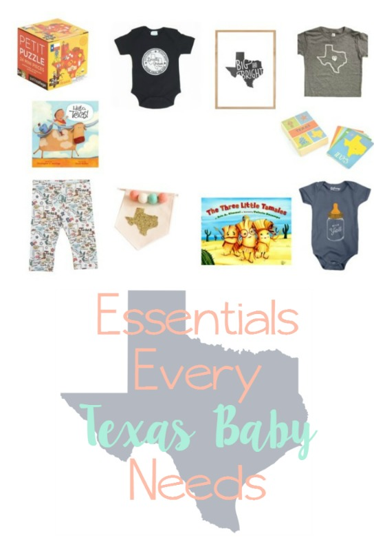 Essentials every Texas Baby needs // Life Anchored