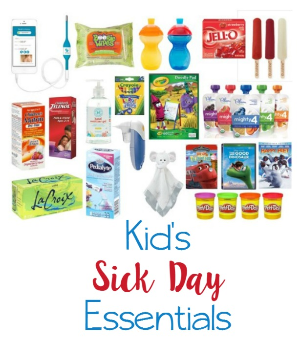 KId's Sick Day Essentials // Life Anchored