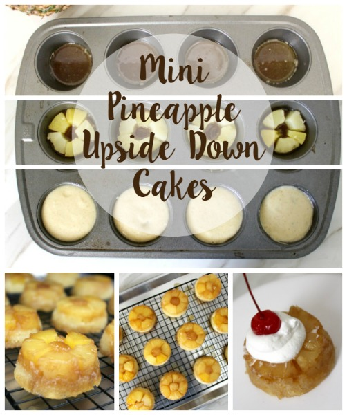 Mini Pineapple Upside Down Cakes // Life Anchored AD #BRMEaster #CleverGirls