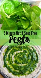 Nut Free Pesto // Life Anchored