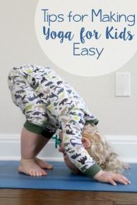 Tips for Making Yoga for Kids Easy