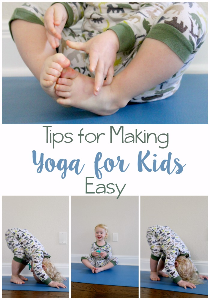 Tips for Making Yoga for Kids Easy // Life Anchored