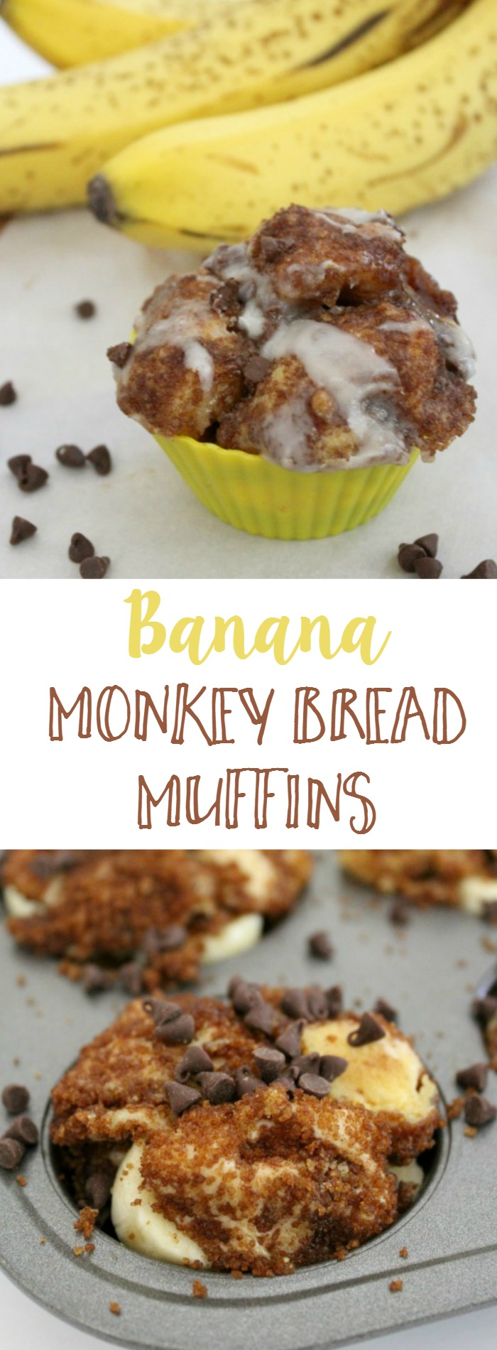 Banana Monkey Bread Muffins // Life Anchored #thejunglebook