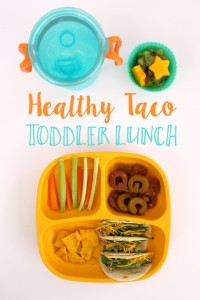 Healthy Mini Tacos Toddler Lunch