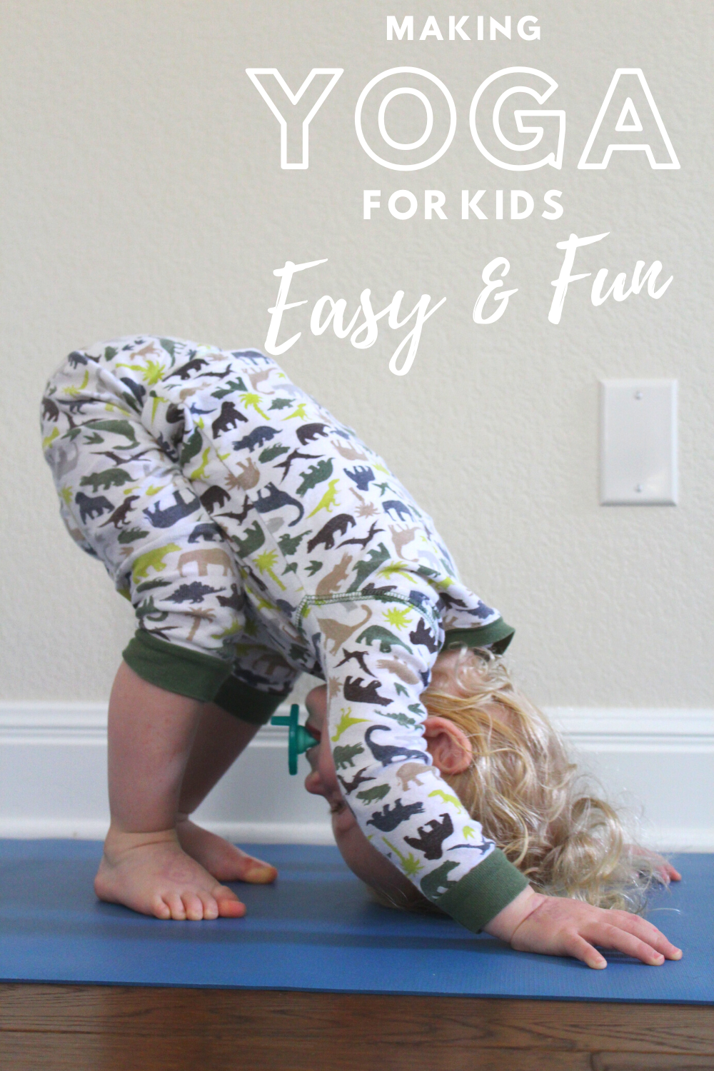 Making Yoga for kids easy and fun // Life Anchored