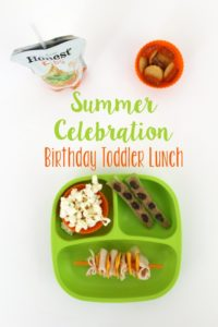Summer Celebration Birthday Toddler Lunch Idea // Life Anchored ad