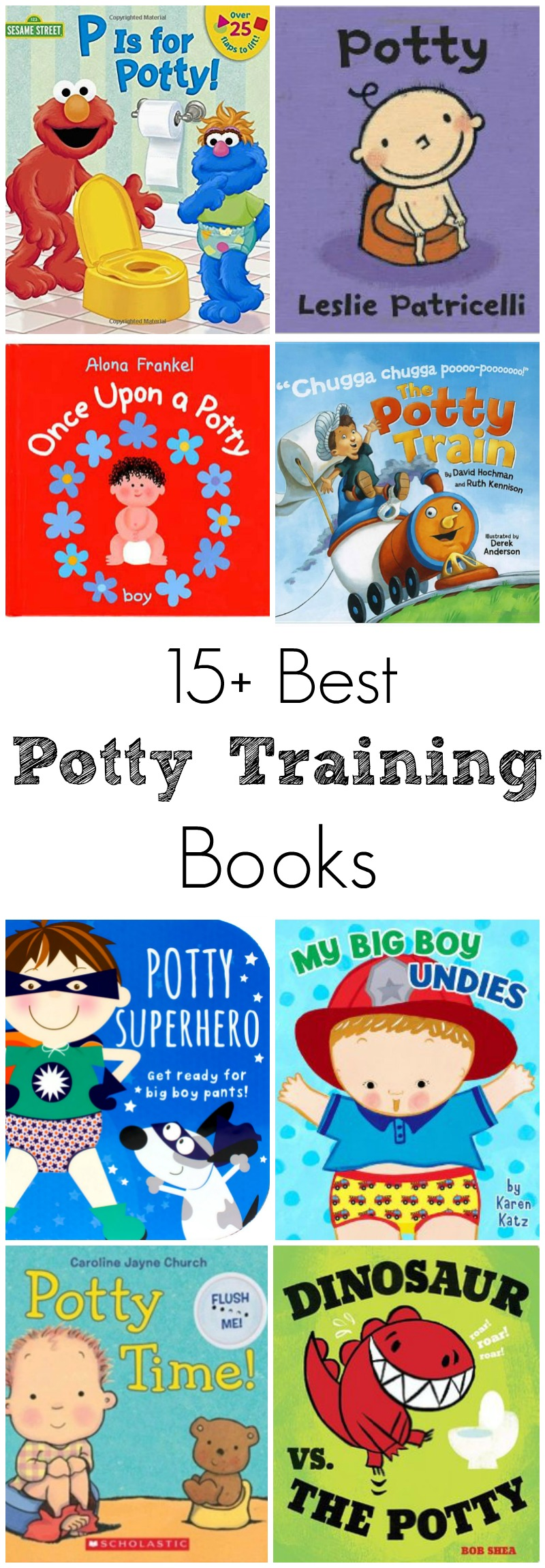 Best Potty Training Books for Toddlers // Life Anchored