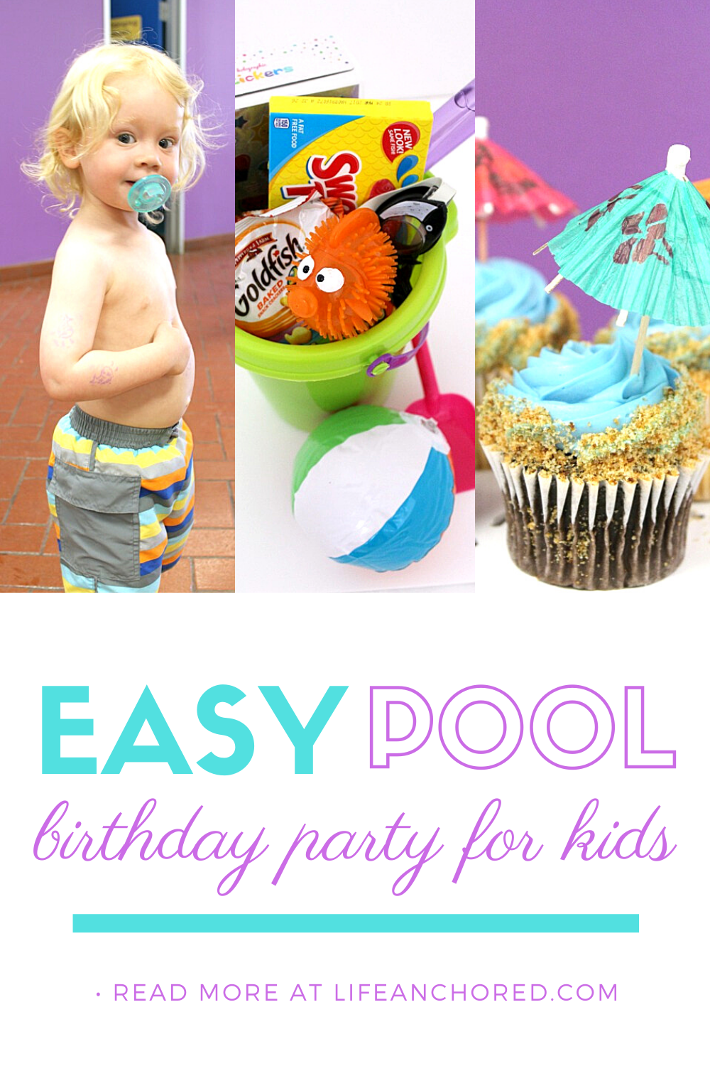 How to throw an easy toddler pool party // Life Anchored