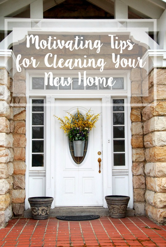 Motivating Tips for Cleaning Your New Home // Life Anchored ad