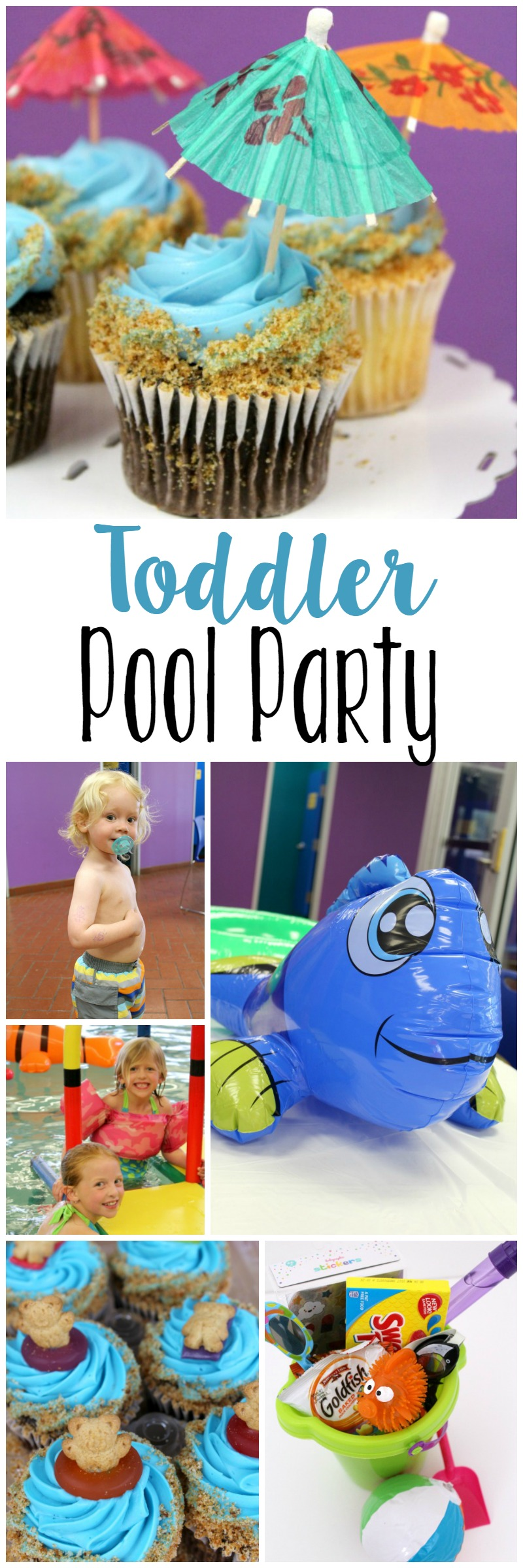 Toddler Swim Pool Party