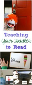 Teaching Your Toddler to Read