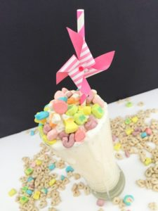 Lucky Charm Cereal Milkshake // Life Anchored ad