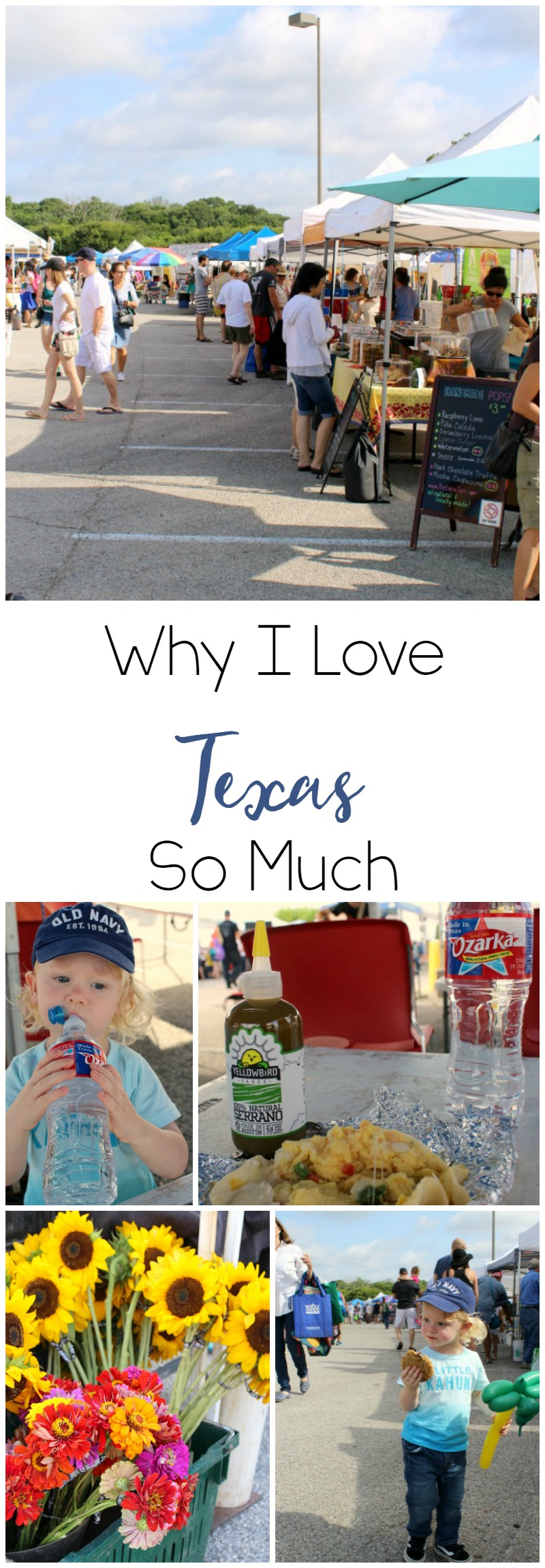 Ozark Water Asks Why I Love Texas So Much // Life Anchored ad #FromHereForHere
