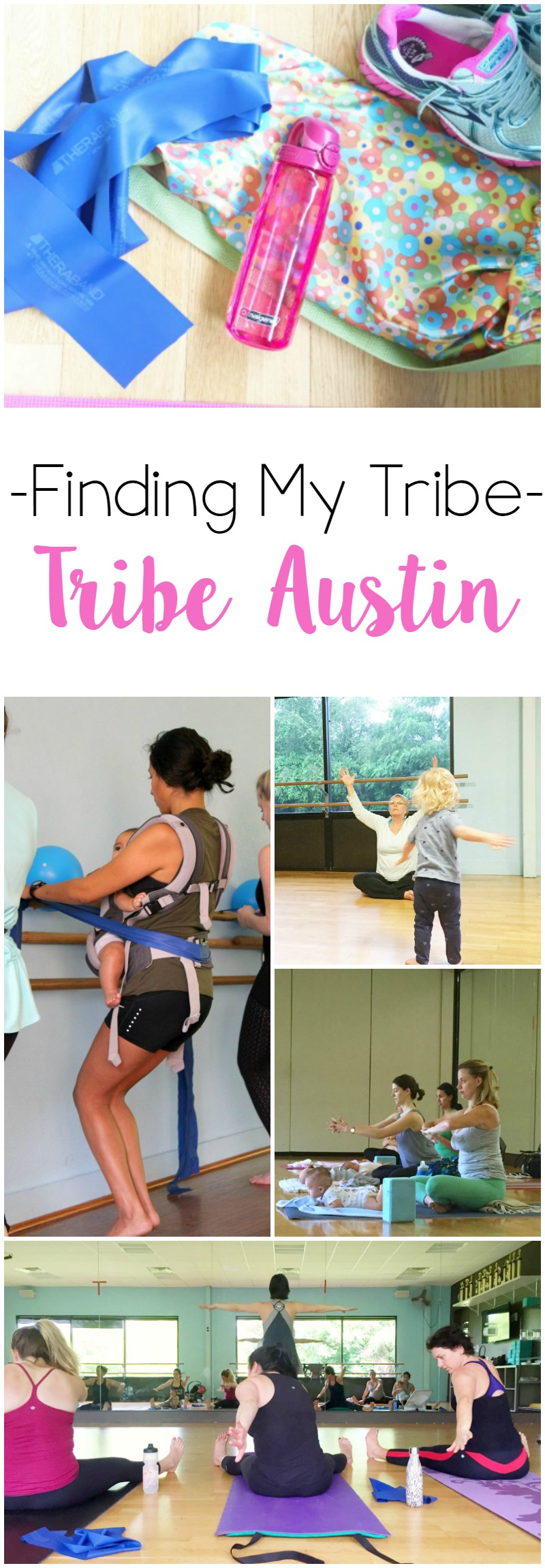 Finding My Tribe st Tribe Austin // Life Anchored ad