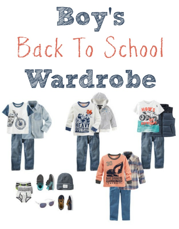Boy's Back To School Wardrobe // Life Anchored AD