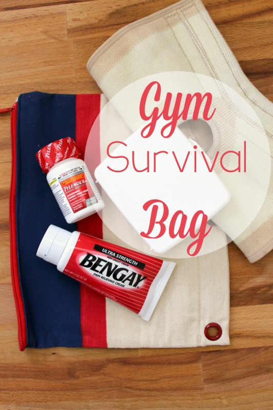Moms Gym Survival bag // Life Anchored AD