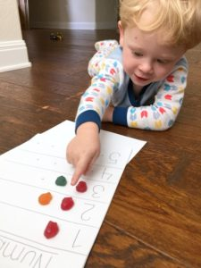 Preschool Counting Activity AD