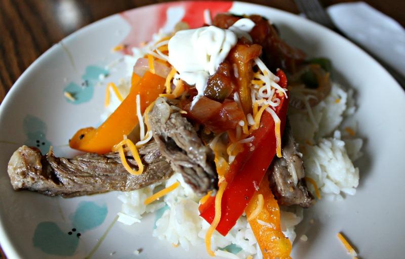 Skillet Steak Fajitas // Life Anchored