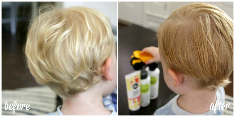 Styling Little Boy Hair // Life Anchored AD