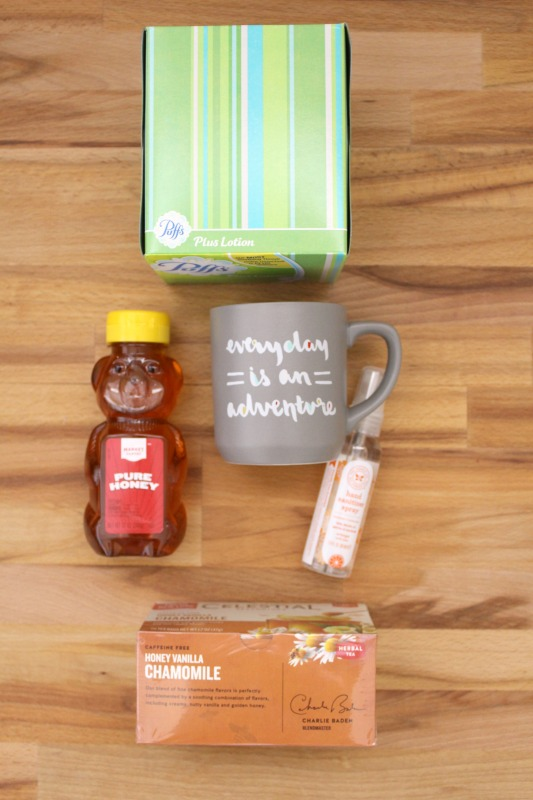 Sick Day Survival care Package // Life Anchored AD