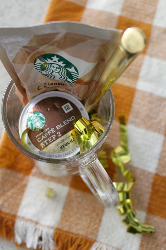I love you a latte diy gift // Life Anchored AD #StarbucksCaffeLatte #MyStarbucksatHome