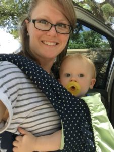 You wore your baby where // Life Anchored AD
