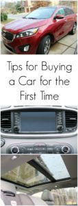 Tips for Buying a Car for the First Time // Life Anchored AD