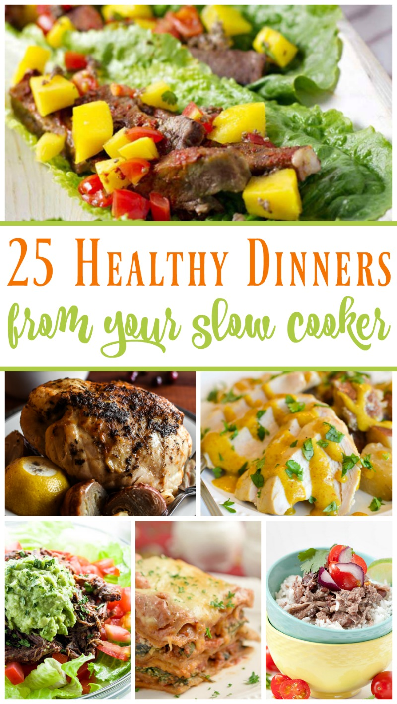 25 Healthy Slow Cooker Dinners // Life Anchored