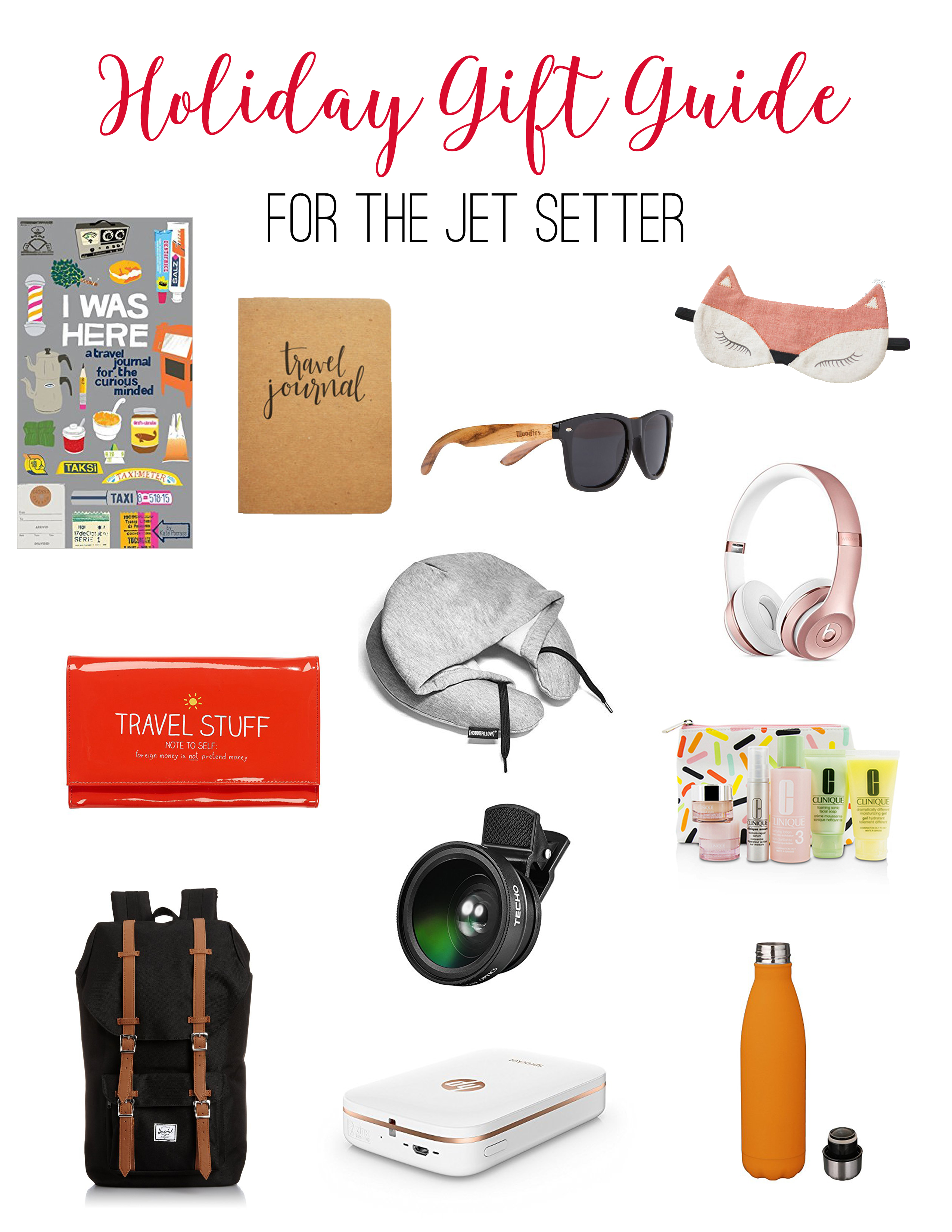 Holiday gift guide for the jet setter // Life Anchored
