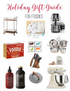 Holiday Gift guide for the foodie // Life Anchored