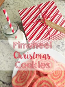 Pinwheel Christmas Cookies // Life Anchored #Itsbakingseason AD