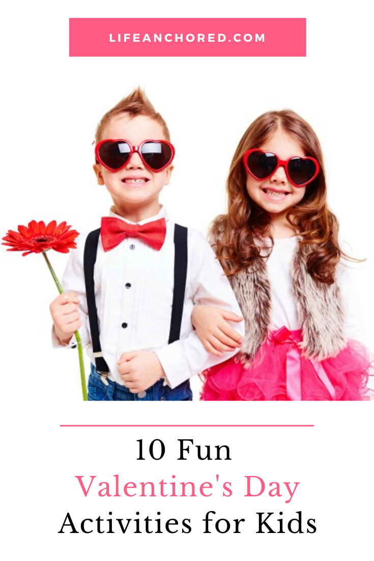 10 fun valentines day activities for kids // Life Anchored