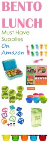 Bento Lunch Supplies on Amazon