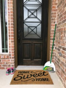 spring cleaning easier // Life anchored ad