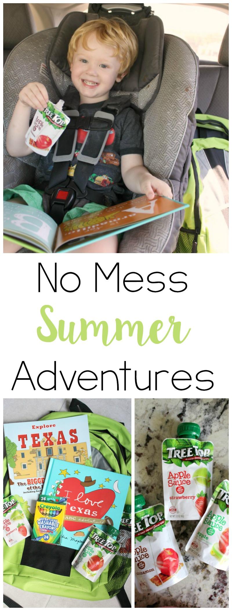 No Mess Summer Adventures // Life Anchored AD