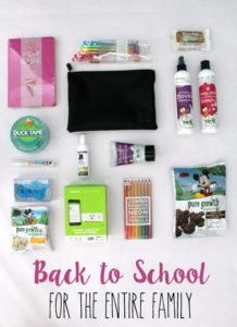 Back to School for the Entire Family // Life Anchored AD