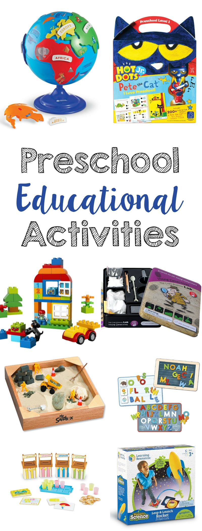 Preschool Educational Activities // Life Anchored