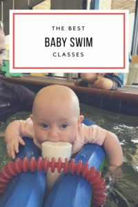 The Best Baby Swim Class // Life Anchored AD