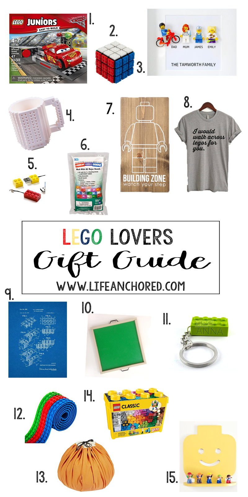 Gifts for the Lego Fan // Life Anchored