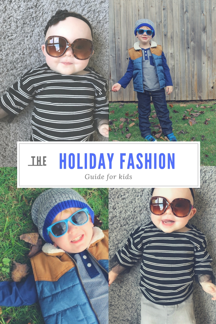 Holiday Fashion for the Littles // Life Anchored AD